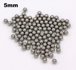 $enCountryForm.capitalKeyWord Canada - 5mm Chrome Steel Bearing Balls G10 Hardened AISI 52100 100Cr6 Precision Chromium Balls For Bicycle Bearings, Automotive Components