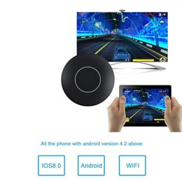 Miracast adapters online shopping - WIFI Display Dongle WiFi Wireless P Mini Display Receiver HDMI TV AV Miracast DLNA Airplay adapter Converter for IOS Android Windows