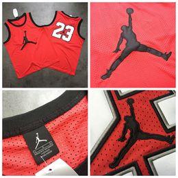 $enCountryForm.capitalKeyWord Australia - Tops Quality Hot Chicago Basketball Bulls 23# Michael MJ Jersey Dense AU Fabric Mesh Retro Mesh Retro Big LOGO Red Black Embroidery Jerseys