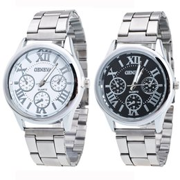 Women S Smart Watches Australia - Women's Men's Roman Numerals Quartz Stainless Steel Quartz Wrist Watch men 39 s watchessports smart watch wristwatch mens women