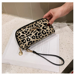 Discount hard shell hand bag - European fashion and exquisite leopard print ladies hand bag shell bag elegant temperament ladies evening bag