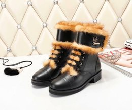 shoe linings Australia - Ting2594 9831 Lining Neckline Mane Ankle Boots Riding Rain Boot Boots Booties Sneakers Dress Shoes
