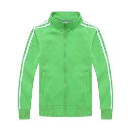 $enCountryForm.capitalKeyWord Australia - Sweatshirt Designer Hoodie Sport Hoodies for Men Cardigan Zipper Active Long Sleeve Striped Pattern Fleece Stand Collar Cotton Blend