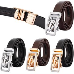 $enCountryForm.capitalKeyWord Australia - New Male Belt Ceintures Ceinture Homme Designer Belts Men High Quality Leather Men Gold Automatic Buckle