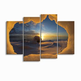 Art Canvas Prints Australia - painting & calligraphy print Landscape canvas poster wall art living room restaurant Bedroom Decorative paintings FJT4-002
