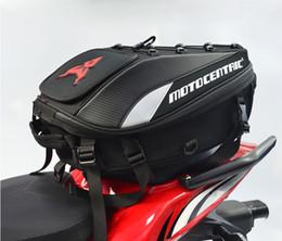 Arka koltuk çanta fermuarlı ücretsiz nakliye MotoCentric motosiklet Yansıtıcı çantaları şövalye off-road sırt çantaları yarış off-road torba / bisiklet spor çanta