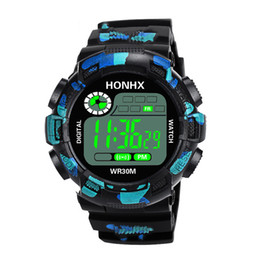 Sport Water Quartz UK - Genvivia Fashion Mens LED watch Analog Quartz Alarm Date Sports Wrist Watch Digital Men Quartz Casual Wrist Relogio Ma#w35