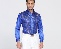 Wholesale High Quality Sequin Performance ball host Cotton Groom Long Sleeve Shirts Best Man Shirt Long Sleeve Shirt Groom Accessories 04