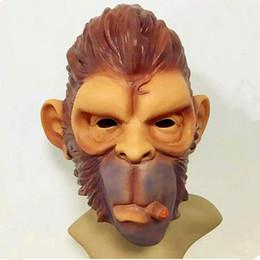 Halloween Games For School Australia - GTA Grand Theft Auto V Gorilla Mask Latex Harley Beast Knight Chimpanzee Masks hood monkey Latex mascaras Halloween game play