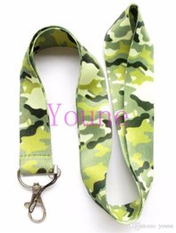 $enCountryForm.capitalKeyWord Australia - Small Wholesale New 20pcs Classic Design Camouflage Grain Mobile Phone Card Lanyard Neck Straps Gifts Free Shipping