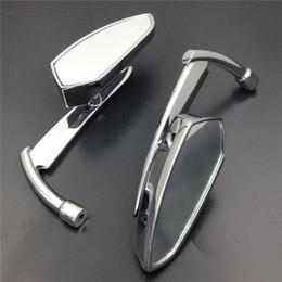 Miroir de moto Pour moto Suzuki Intruder Volusia Boulevard CHROME Spear Blade retroviseur