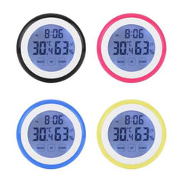$enCountryForm.capitalKeyWord Australia - New Temperature Humidity Time Function Wall Clock Thermometer Digital LCD Backlight Clocks Indoor Weather Station Meter Tester