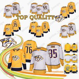 6dd506739 HOT Nashville Predators Hockey Jersey 35 Pekka Rinne 76 P.K. Subban 59  Roman Josi 9 Filip Forsberg Hockey Jerseys Top