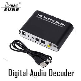 Wholesale Top quality 5.1-channel DTS Dolby   AC-3 audio decoder digital fiber   coaxial to analog RCA Plug