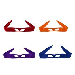 cosplay eye patches UK - Children Performance Eye Masks 4 Designs Classic Eye Patches Unisex Party Cosplay Costume Accessories 50 Pieces DHL