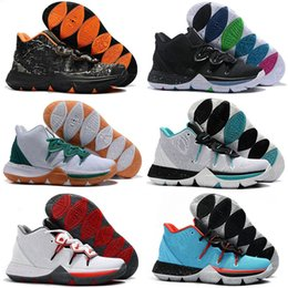 on sale 807cd 19a47 Hot Kyrie Taco Sports Basketball 5 Chaussures Shoes Mens Top Quality  Multicolo Sneakers Designer Mens Trainers 7-12