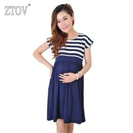 3188ce7680f79 Ztov Long Dresses Maternity Nursing For Pregnant Women Pregnancy Women's  Dress Clothing Mother Home Clothes L xl xxl Q190521
