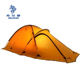 $enCountryForm.capitalKeyWord Australia - Hillman camping tent double layer aluminum pole tent anti typhoon four seasons Alpine coated silicone coated area 2