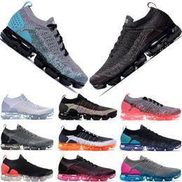 8ee4811199 La mejor calidad de hilo aleatorio de punto 2.0 zapatillas de deporte para  mujer para hombre negro blanco polvoriento Cactus Hyper Jade Negro Punch  caliente ...