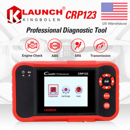 Launch Automotive Diagnostic Tools NZ - Launch X431 Creader VII Plus VII+ Auto Code Reader OBD2 OBD 2 Scanner Launch CRP123 OBDII Diagnostic Tool Automotive Scan Tool