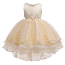$enCountryForm.capitalKeyWord Australia - Halloween Flower Girl Wedding Evening Party Dresses Lace Tailing Formal Kids Dresses for Girls Princess Dress Teenage 3-12Y Dress Vestidos
