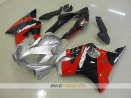 F4i Silver Red Australia - High quality New ABS motorcycle fairings fit for Honda CBR600F4i CBR600 FS F4i 2004 2005 2006 2007 04 05 06 07 fairing kits cool red silver