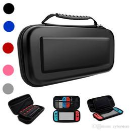 Großhandel Tragbare Durchführung Schützen Reise Harte EVA Tasche Konsole Spiel Tasche Schutzhülle Für Nintendo Switch Shell Box Switch Hohe Qualität Neu