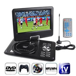 9.5 inch TFT LCD Screen Digital Multimedia Portable DVD with Card Reader & USB Port, Support TV & Game Function, 180 Degree Rotation, Suppo on Sale