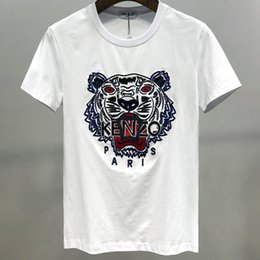 mens fashion t shirt trends 2020 - mens T-shirt fashion casual trend size M-3XL Comfortable breathable WSJ042#111503lucky04 discount mens fashion t shirt t