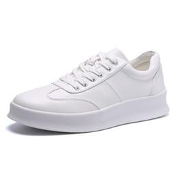9a0c07ee4407 6 Foto Aumentare le scarpe in vendita-Nuovo stile primavera estate uomo  scarpe casual moda bianco mens
