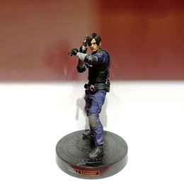 Chinese  Japan Action Figure From Resident Evil 2 Remake Game Leon Scott Kennedy Model Collectible Anime Leon Kennedy Figures Action Toy Gift manufacturers