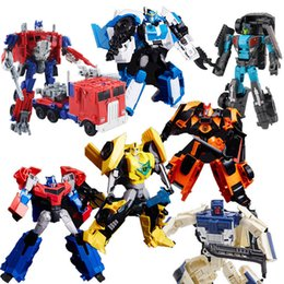 Ingrosso Transformation League RID Alloy OP Commander Grimlock Drift Travestimento Wildrider Breakdown Megatronus Warrior Figure Robot Toy
