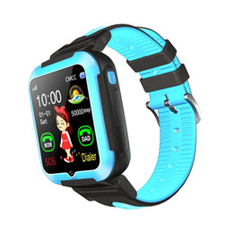 child locator watch tracker Australia - E7 Child Smart Watch Intelligente Locator Tracker Anti-Lost Remote Monitor GPRS GSM GPRS Wrist Watch Best Gift For Children Kids