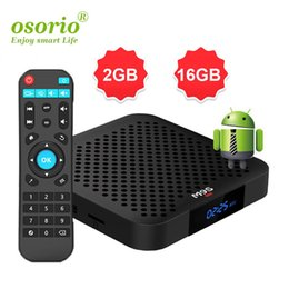 Hot Box Internet Australia - Hot M9S W2 Android 7.1 TV Box Amlogic S905W Quad-core 64 Bit 2GB 16GB 4K UHD WiFi & Lan VP9 DLNA H.265 Internet Media Streaming Player