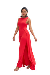 $enCountryForm.capitalKeyWord UK - in stock Bodycon Jumpsuits Women Sexy Personality Long Pants Rompers Dress Hot Red Fashion Evening Night Club Suits