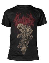Опт Футболка Bloodbath 'Nightmares Made Flesh' - НОВЫЙ ОФИЦИАЛЬНЫЙ! Подарочная футболка с принтом Hip Hop Tee Shirt дешево оптом