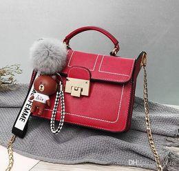 $enCountryForm.capitalKeyWord Australia - New Women Bags Fashion Women Bag Messenger Bags Chain Shoulder Bag Lady Bags Famous Handbags Wallet Tote Cosmetic Bag