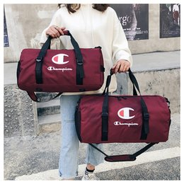 Wholesale letter Travel Bags Sports Duffle Bag Fitness Yoga Carry On Luggage Large Capacity Waterproof Tote Shoulder Bags MMA1750