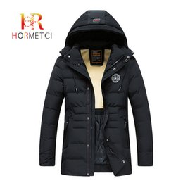 $enCountryForm.capitalKeyWord Australia - HORMETCI Fashion Brand Men Wram Long Parkas Casual Coat Winter High Quality Men Hooded Jackets Men's Parka