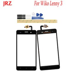 China 5.0 inch Phone Touch Screen Front Glass Lens For Wiko Lenny 3 Touch Panel Sensor Digitizer Replacement Touchscreen Touchpad cheap wiko lenny phone suppliers