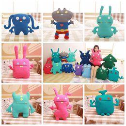 Wholesale ugly animals online – design 15 Styles cm Uglydolls Big Toe Ox Moxy Uglydog Babo Wage Puglee Uglydoll Stuffed Toys Ugly Doll Plush Toys Plush Animals DHL FJ330 u