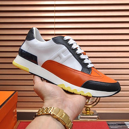 $enCountryForm.capitalKeyWord Australia - Casual Mens Shoes Chaussures pour hommes Breathable Designer Mens Footwear Luxury Trail Sneaker Leather Men Shoes Fashion Chaussures