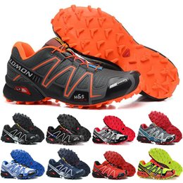 41c5909e364aa Pink camouflage shoes online shopping - Salomon Camouflage yellow Men Shoes  zapatos hombre Speed Cross CS