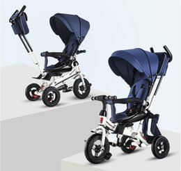 $enCountryForm.capitalKeyWord Australia - 4 In 1 Infant Tricycle Folding Rotating Seat Baby Stroller 3 Wheel Bicycle Kids Bikes Three Wheel Stroller Baby Trolley 6M-6Y