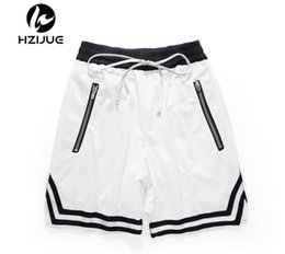 Womens White Knee Length Shorts Australia - 2019 High quality free hip hop patterns Hip Hop Street basketball short pants streetwear Justin Bieber High Quality Mens womens Shorts