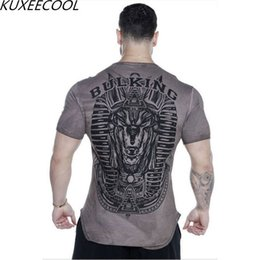 $enCountryForm.capitalKeyWord Australia - Jumbo Size Printed T-shirts Men Compression Shirts Short Sleeve Costume Crossfit Fitness Fitness Clothes Clothing Tops Y190506