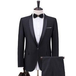 $enCountryForm.capitalKeyWord UK - 2019 Latest Designs Prom Dinner Mens Suits Best Man Groom Wedding Suits (Jacket +Pants+Vest) Men Suit Custom Made Size Tuxedos