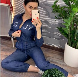 Sexy Women Hats Australia - Sexy English Printing Hat Lead Twinset Add Color Night Service ladies tracksuits women two piece outfits clothing sets party dresses
