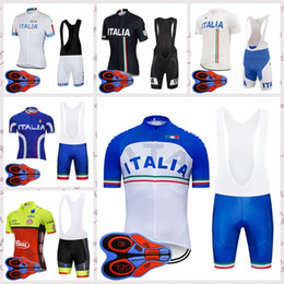 Discount new jersey italy - ITALY team Cycling jersey New Summer Bike Clothes Mens Short Sleeves bib shorts sets Outdoor quick-drying cycling sports