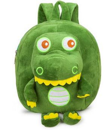 cute little backpacks Australia - New fashion personality student kindergarten baby cute little dinosaur children schoolbag Plush Doll shoulder backpack in 2019